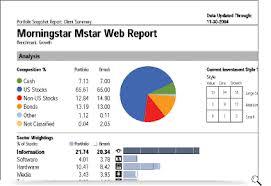 morningstar report